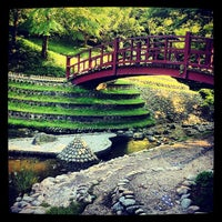 Photo taken at Jardins Albert Kahn by Paris P. on 7/26/2012