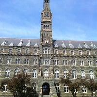 Photo taken at Georgetown University by Isa P. on 4/14/2012
