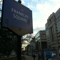 Photo taken at Franklin Square Park by Tony ™. on 1/28/2012