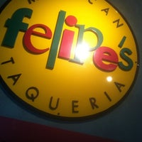 Photo taken at Felipe's Mexican Taqueria by Andrew G. on 5/4/2011