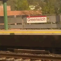 Photo taken at Metro North - Greenwich Station by Melissa S. on 4/18/2012