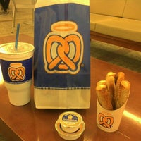 Photo taken at Auntie Anne's by Tessa E. on 9/21/2011