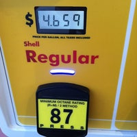 Photo taken at Shell by Brett S. on 3/14/2012