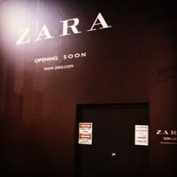Photo taken at Zara by Charles C. on 8/16/2012