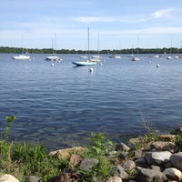 Photo taken at Lake Harriet by William B. on 5/13/2012