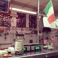 Photo taken at Graham Avenue Meats and Deli by Rich K. on 9/11/2012