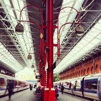 Photo taken at London Marylebone Railway Station (MYB) by Natalia P. on 7/12/2012