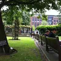 Photo taken at St Paul's Churchyard by Jihye H. on 7/31/2012
