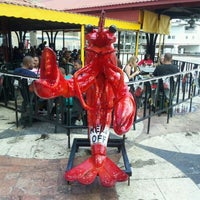 Photo taken at Poppy's Crazy Lobster Bar & Grill by Michael M. on 3/14/2012