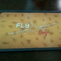 Photo taken at Fly Café by Ana C. on 4/10/2012