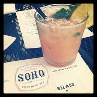 Photo taken at SOHO Kitchen & Bar by Emma B. on 7/20/2012