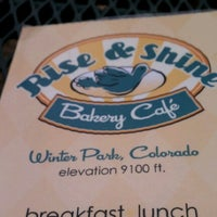 Photo taken at Rise & Shine Bakery by Christopher H. on 6/14/2012