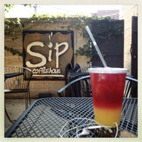 Photo taken at Sip Coffee House by Samantha O. on 8/6/2012