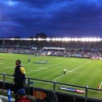 Photo taken at Pirtek Stadium by Nic S. on 8/11/2012