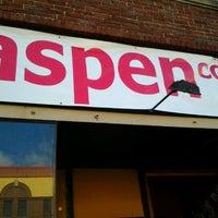 Photo taken at Aspen Coffee & Tea by Joe D. on 3/25/2012