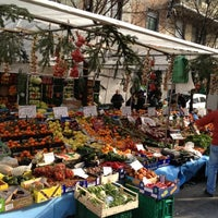 Photo taken at Mercato di via Fauche by Federico R. on 2/4/2012