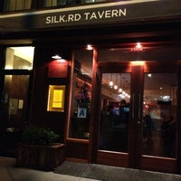 Photo taken at Silk Rd Tavern by Carrie on 9/12/2012