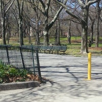 Photo taken at Lincoln Terrace Park by Damion E. on 4/6/2012