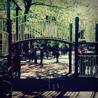 Photo taken at Augustus Saint-Gaudens Playground by Jeffrey Z. on 5/1/2012