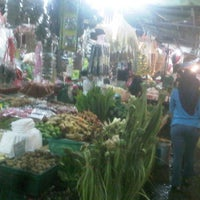 Photo taken at Pasar Chowkit by shahzully z. on 8/17/2012