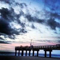 Photo taken at St. Augustine Pier by John C. on 8/26/2012