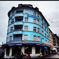 Photo taken at Bäckerei Gnädinger by Cesar M. on 4/13/2012