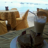 Photo taken at Oops Beach Cafe by Hooipei T. on 7/7/2012