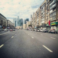 Photo taken at Большая Дорогомиловская улица by Стас Т. on 9/5/2012