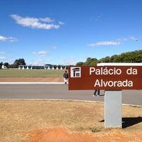 Photo taken at Alvorada Palace by Virgínia G. on 7/3/2012