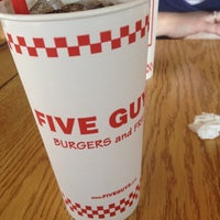 Photo taken at Five Guys by Scott F. on 4/4/2012