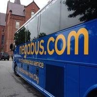 Photo taken at Megabus Station by Harjit on 7/26/2012