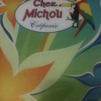 Photo taken at Chez Michou Crêperie by Leandro M. on 8/14/2012