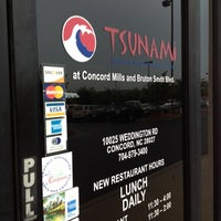 Photo taken at Tsunami Japanese Steakhouse and Sushi Bar by Icesis on 7/10/2012