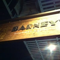 Photo taken at Barney's Gourmet Hamburgers by Daniel T. on 6/17/2012