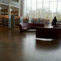 Photo taken at Malmö Stadsbibliotek by Rachel A. on 3/29/2012