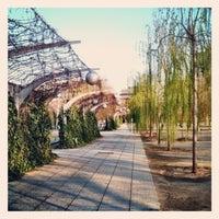 Photo taken at Parc del Centre del Poblenou by Gabriel C. on 3/25/2012