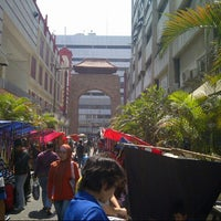 Photo taken at Pasar Baru (Passer Baroe) by coky z. on 8/4/2012