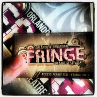 Photo taken at Orlando International Fringe Theatre Festival by Todd S. on 5/25/2012
