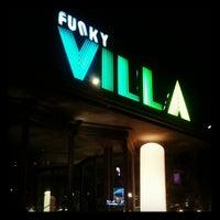 Photo taken at Funky Villa by Tommy B. on 4/6/2012
