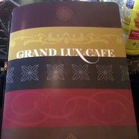 Photo taken at Grand Lux Cafe by Philip L. on 5/13/2012