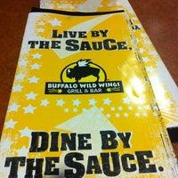 Photo taken at Buffalo Wild Wings by YiYi C. on 7/11/2012