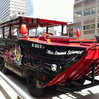 Photo taken at Boston Duck Tour (Prudential Center) by John T. on 9/8/2012