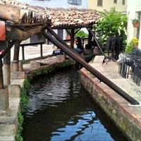 Photo taken at Vicolo dei Lavandai by Aldo C. on 4/29/2012