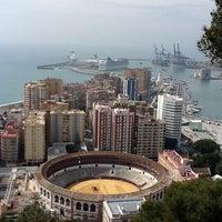 Photo taken at Hotel Parador de Málaga Gibralfaro by Miguel A F. on 3/30/2012