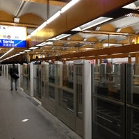 Photo taken at Métro Gare de Lyon [1,14] by Richard Y. on 2/10/2012