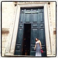 Photo taken at Basilica di Sant'Agostino in Campo Marzio by Jaqueline A. on 9/7/2012