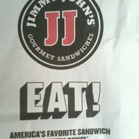 Photo taken at Jimmy John's by Ross V. on 4/15/2012