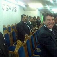Photo taken at Assembleia de Deus - Madureira by Ronaldo F. on 4/15/2012