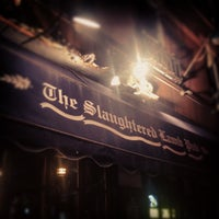 Photo taken at Slaughtered Lamb Pub by Geoff G. on 2/26/2012