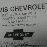 Photo taken at Davis Chevrolet by Teresa R. on 6/20/2012